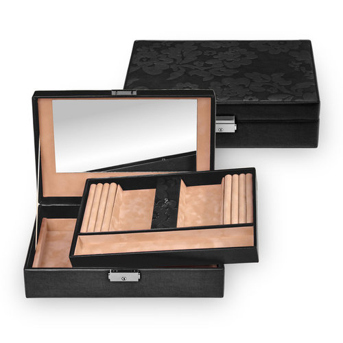 jewellery box Ilka / nature fiorella, black