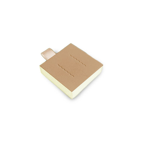 pads for ear studs (6pcs.)  / vario, beige