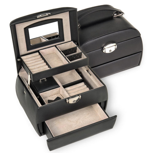 jewellery box Selina/ standard, black