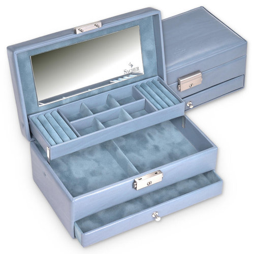 jewellery case Helen/ pastello, aqua