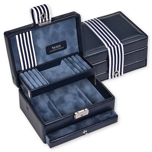 jewellery box Carola/ young, navy
