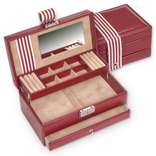 jewellery case Helen/ young, red